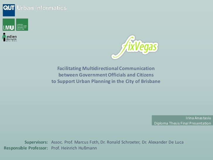 Facilitating Multidirectional Communication                            between Government Officials and Citizens          ...