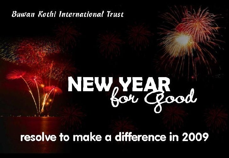New Year For Good