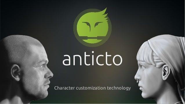 Character customization technology