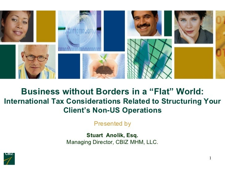 Business Without Borders In A Flat World