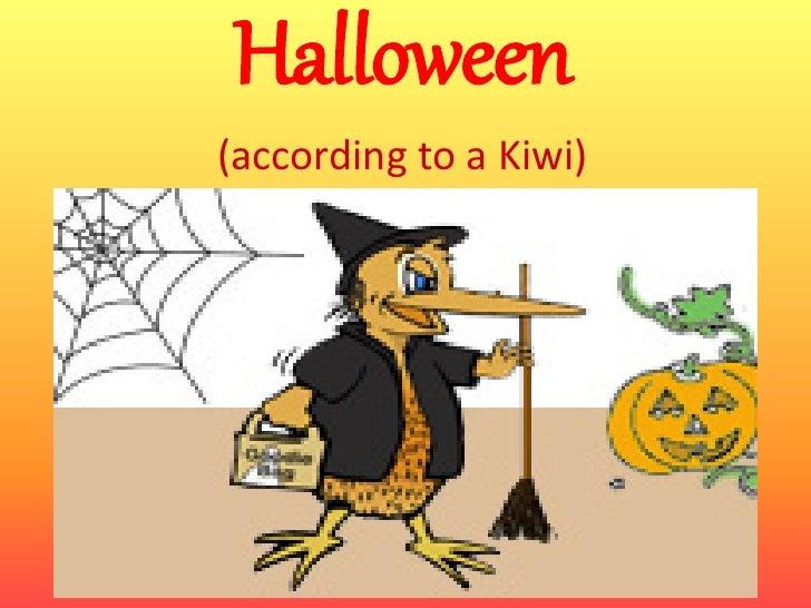 Halloween(according to a Kiwi)