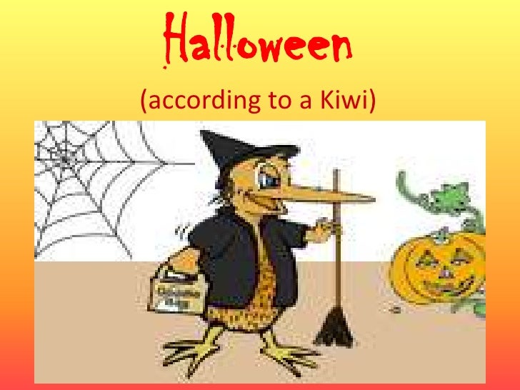 Halloween(according to a Kiwi)