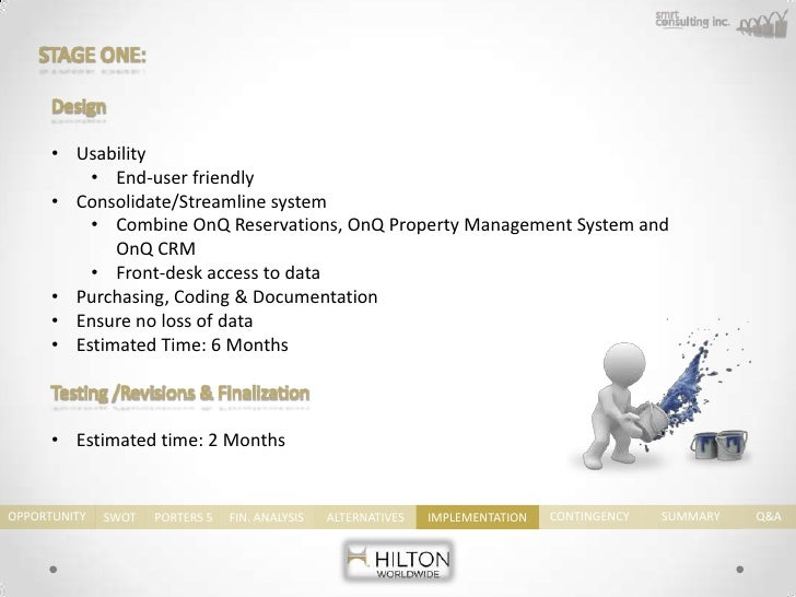 a case study on the business performance management of hilton hotels corp Business chemistry hilton hotel human resource management introduction training, development, legislation and performance hilton hotels www.