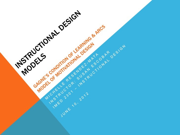 WHAT IS INSTRUCTIONAL SYSTEMS DESIGN?Instructional Systems Design is the process of developingcurriculum and resources to ...