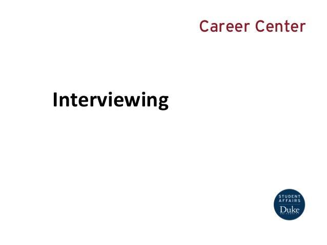 Interviewing Presentation