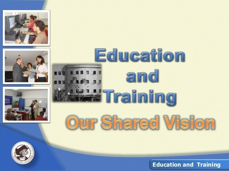 Education & Training – Our Shared Vision by EPCC
