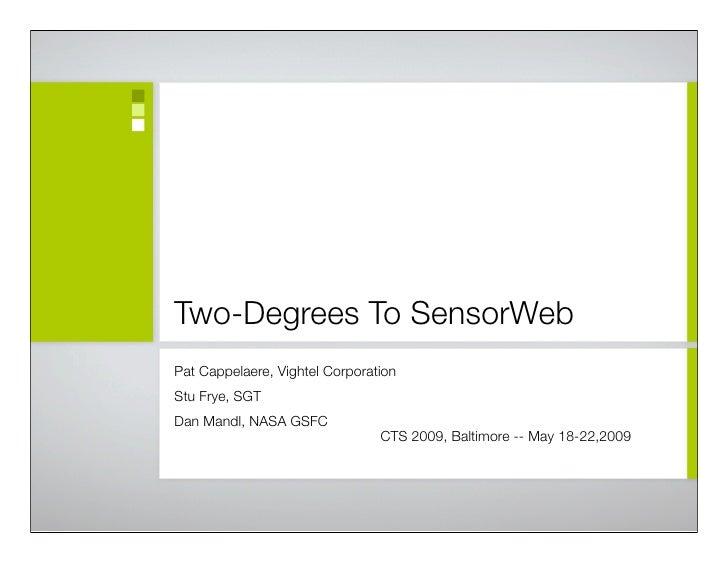 Two Degrees To SensoWeb