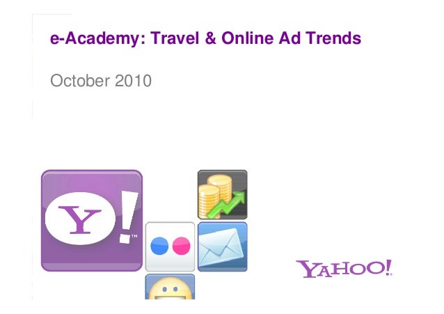 e-Academy: Travel & Online Ad Trends October 2010