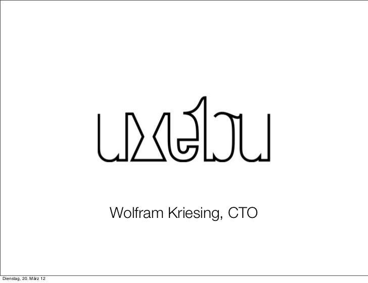 Wolfram Kriesing, CTODienstag, 20. März 12