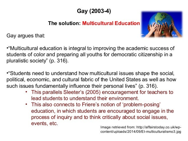 culture and multicultural education essay