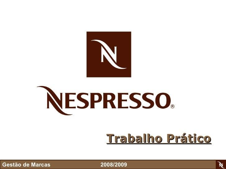 Presentation Nespresso