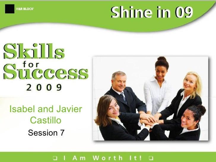 Isabel and Javier Castillo Session 7