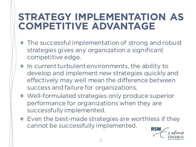 thesis strategy implementation 5 strategy implementation in the construction industry 6 using value chain analysis to manage consumer confidence in it knowledge services 7.