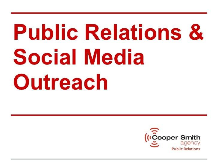 PR & Social Media 101