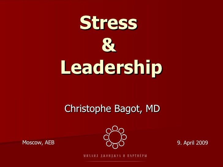 Stress & Leadership