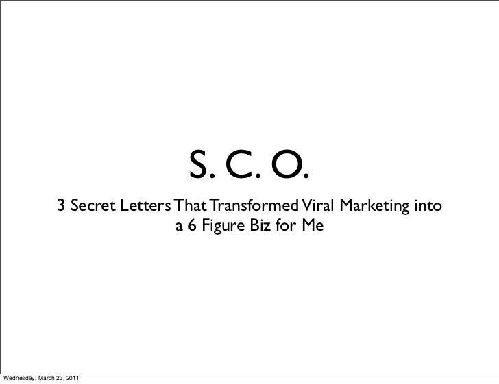 Presentation   sco