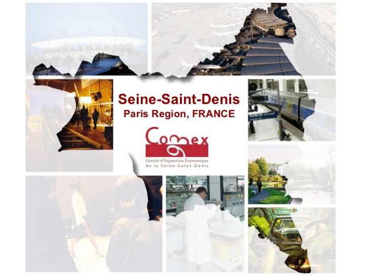 Presentation Seine Saint Denis Uk 2008