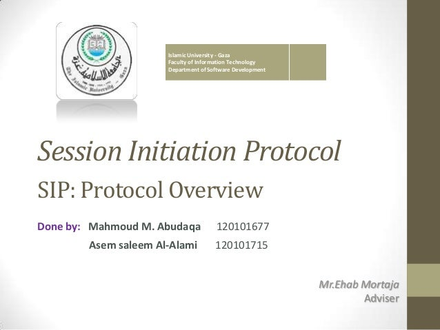 sip session initiation protocol pdf