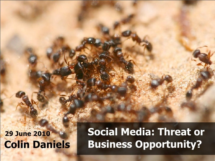 Social Media: Threat or Business Opportunity?