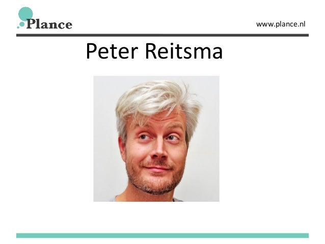 www.plance.nl Peter Reitsma