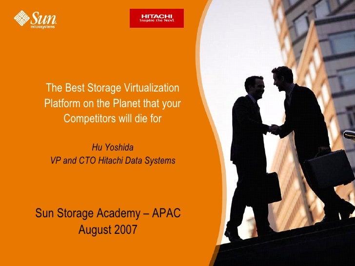 Presentation   st9900 virtualization - emea - primary disk