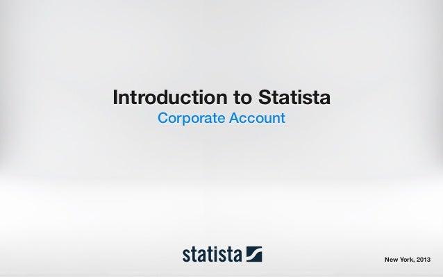Presentation statista corporate-account_22-03c