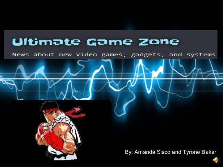Ultimate Game Zone Slideshow presentation