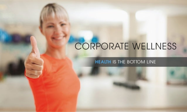 Corporate Wellness Presentation for Personal Trainer XL In house Fitness