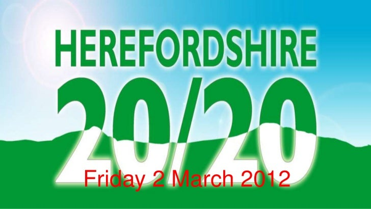 Friday 2 March 2012