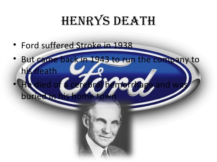 the life of henry ford and his accomplishments in the automotive field Henry ford museum field trips his early life as an inventor henry ford did not invent the automobile 1903 henry incorporated his third automotive venture.