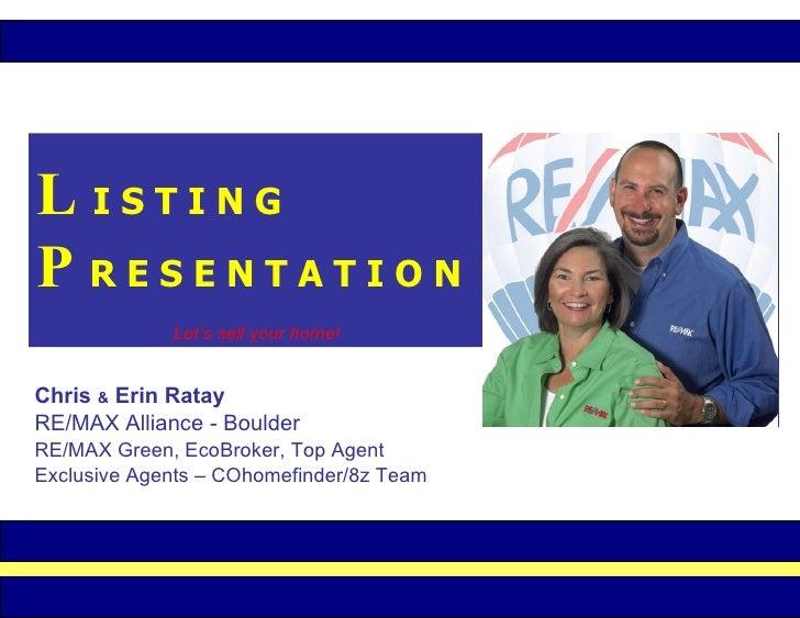 Listing Presentation BC