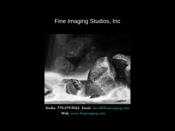 Fine Imaging Mini Folio