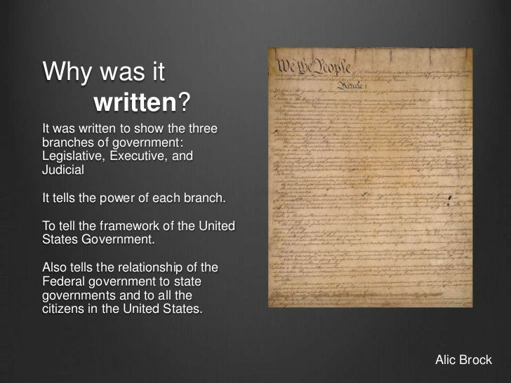 why u s constitution should not ratified Why should the constitution not have been ratified i have a debate in history class on the ratification (whether  how is the us constitution ratified.