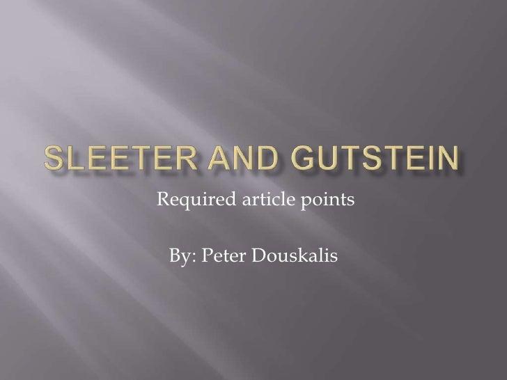 Gutstein powerpoint