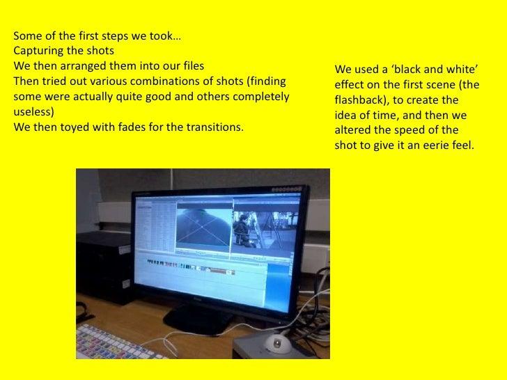 Starting to Edit...