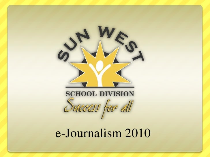 e-Journalism 2010<br />