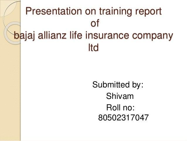 summer training project report on bajaj