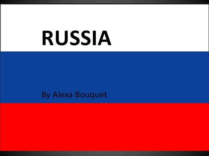 Russia Nation Report part 1