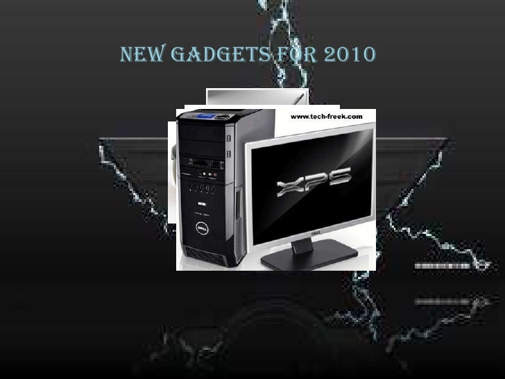 New gadgets for 2010<br />