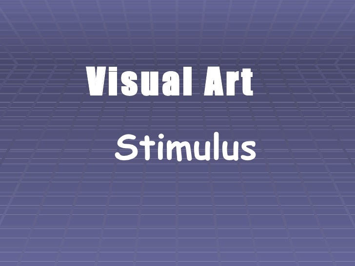 Visual Art Stimulus Fashion Design