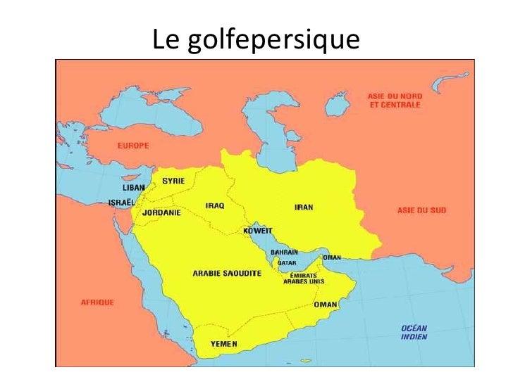Le golfepersique<br />