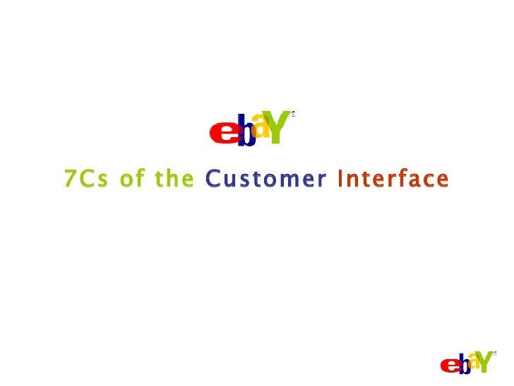 7Cs of the   Customer   Interface