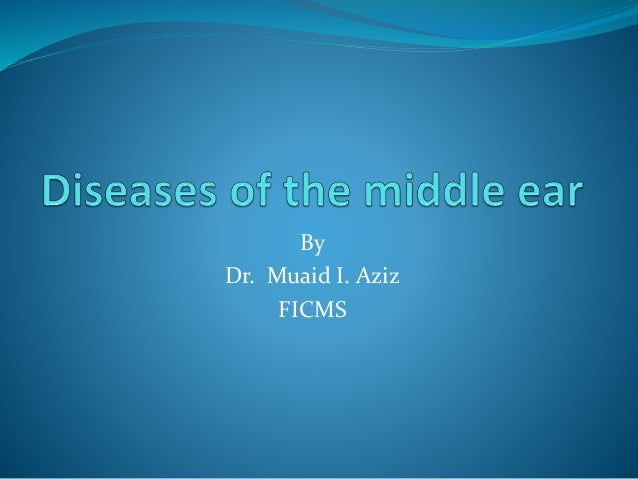 By Dr. Muaid I. Aziz FICMS