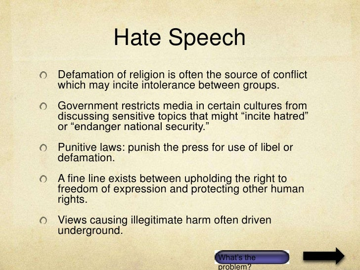 freedom of speech expression should What are we allowed to say in a school paper keep in mind - private schools have more leeway to set their own rules on free expression than public schools do.