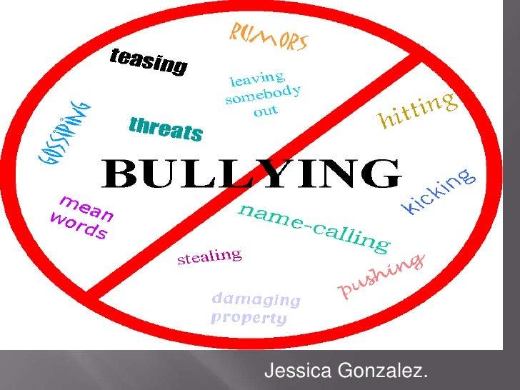 Bullying in schools.