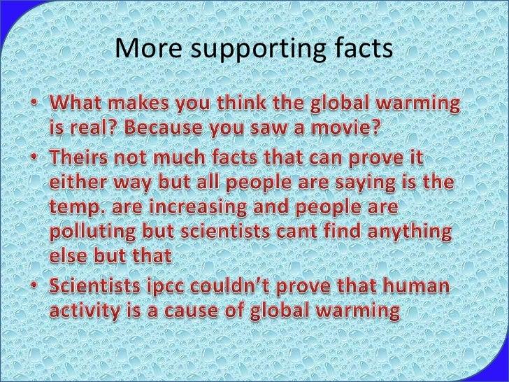 global warming fact fiction essay