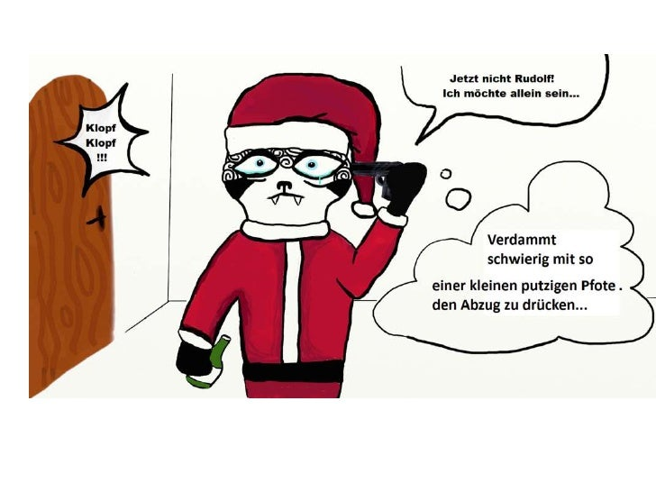 Faultier am Weihnachtsabend