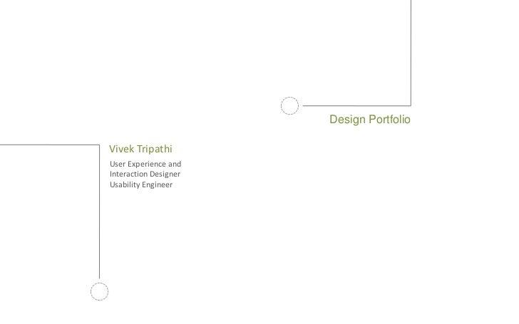 Vivek Tripathi | Portfolio