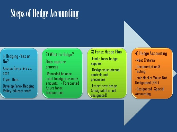 Forex hedge accounting entries