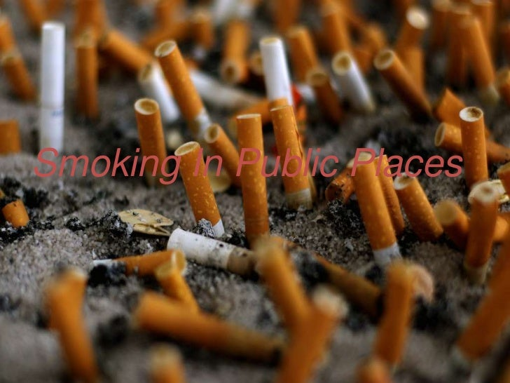 Smoking In Public Places<br />